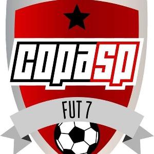Logo do torneio II COPA SP DE FUTEBOL 7 - SUB 11