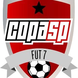 Logo do torneio II COPA SP DE FUTEBOL 7 - SUB 15