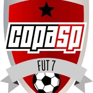 Logo do torneio III COPA SP DE FUTEBOL 7 - SUB 13